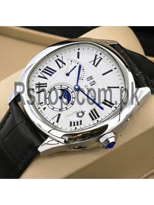 Cartier Drive Retrograde Second Timezone Watch Price in Pakistan