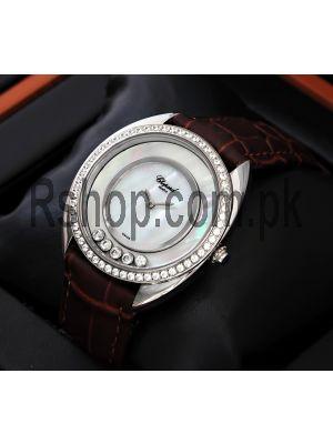Chopard Happy Sport Diamond Bronze Dial Ladies Watch Price in Pakistan