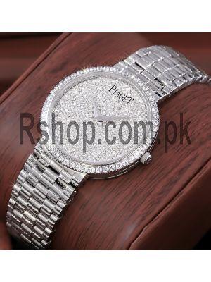 Piaget Dancer Silver Diamond Dial Watch Price in Pakistan