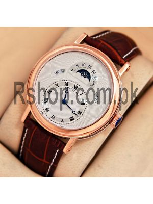 Breguet Classique With Day/Date & Moon Phase Watch Price in Pakistan